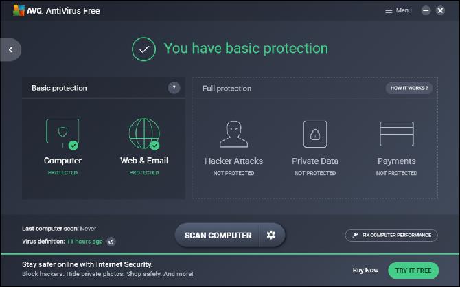 أفضل برامج مجانية لمكافحة الفيروسات