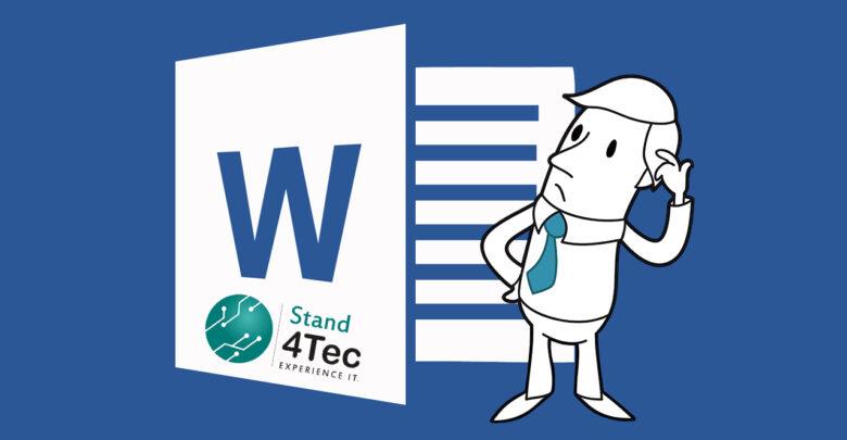 إختصارات لوحة المفاتيح لبرنامج مايكروسوفت وورد على ويندوز